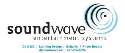soundwave entertainment - orlando wedding - orlando wedding lighting - orlando wedding dj