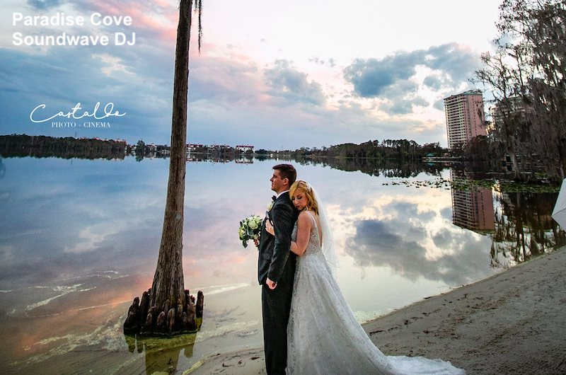paradise cove - orlando wedding venue - orlando wedding dj - soundwave entertainment