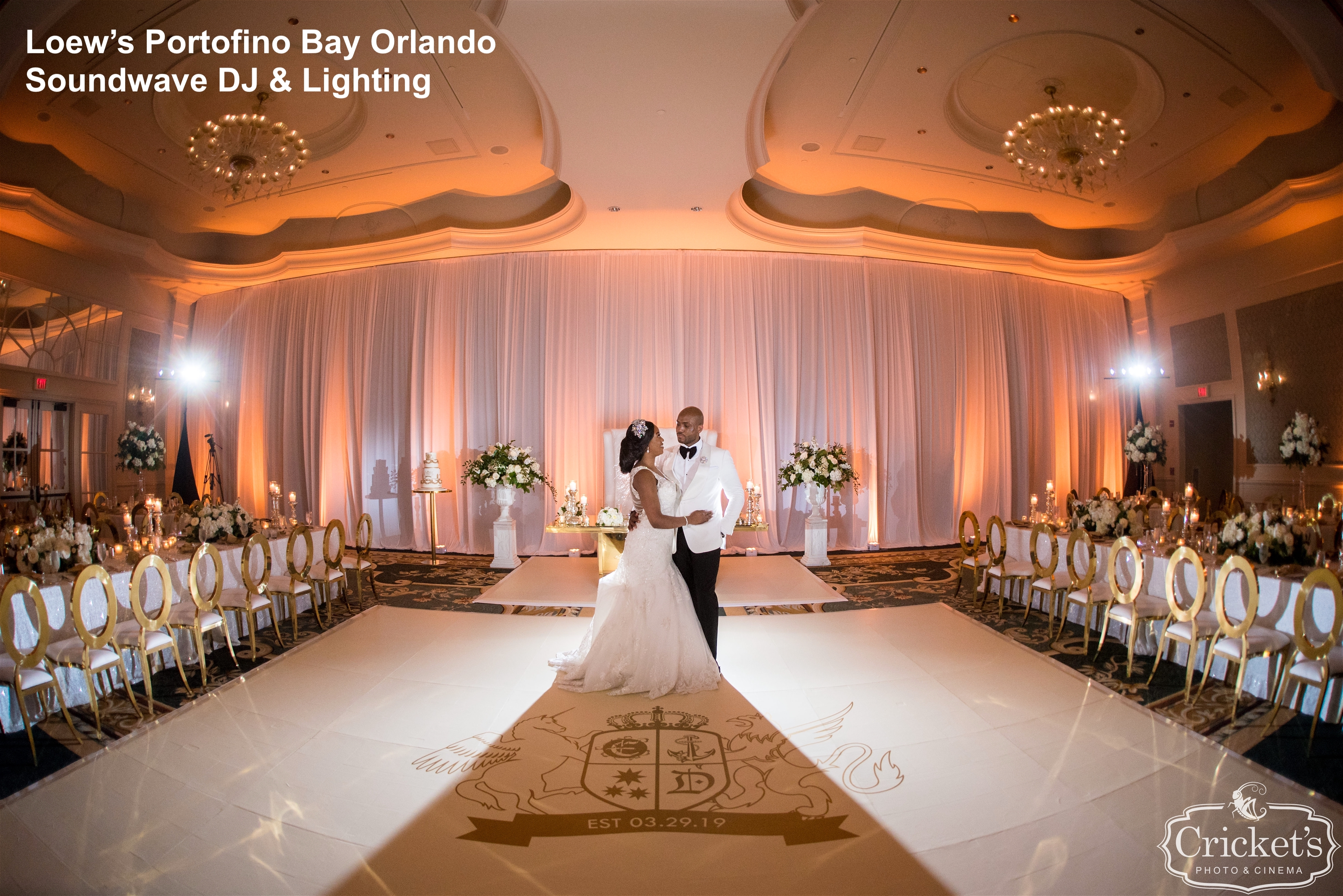 Loews Portofino Orlando Wedding 11