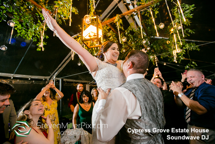 cypress grove estate house - orlando wedding venue - orlando wedding dj - soundwave entertainment dj