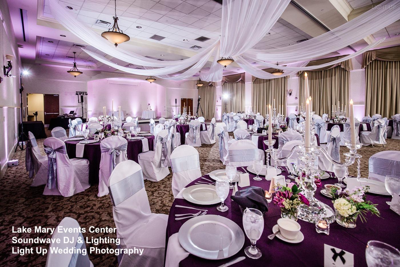 lake mary events center - orlando wedding venue - soundwave DJ - orlando dj