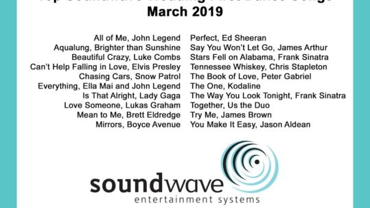 soundwave entertainment - orlando dj - orlando djs - wedding songs - first dance