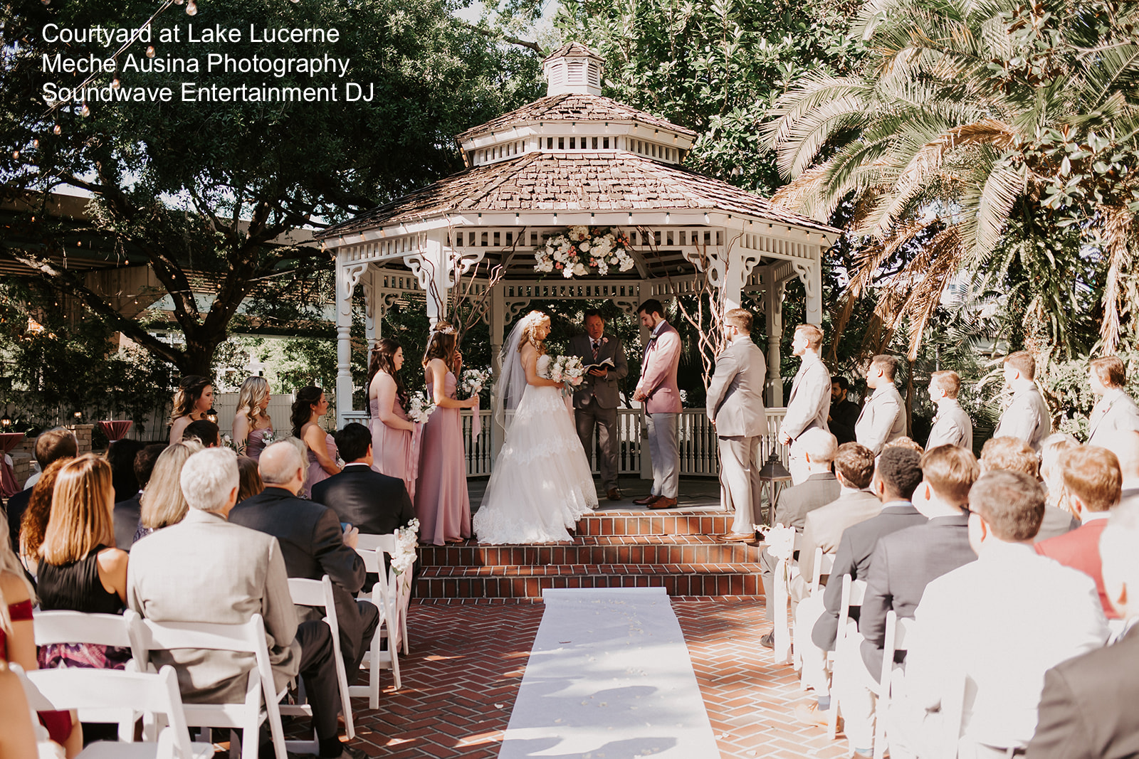 Couryard lake lucerne - orlando dj - orlando djs - orlando wedding dj - soundwave dj