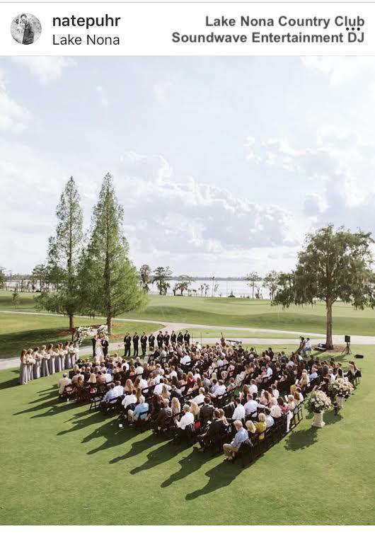 Lake nona golf and country club - orlando wedding venue - orland dj - soundwave entertainment