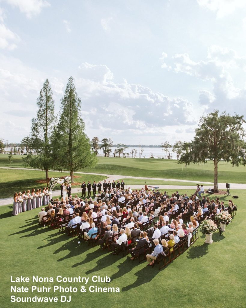 Lake Nona Country Club - orlando wedding venue - orlando wedding dj - orlando dj - soundwave entertainment - soundwave dj