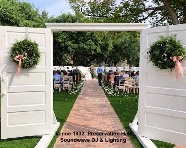 venue 1902 - orlando wedding venue - orlando dj - soundwave entertainment