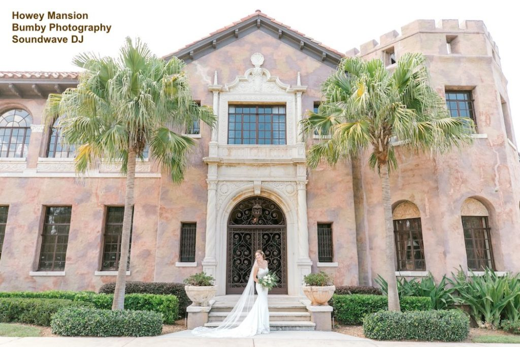 howey mansion, orlando wedding venue - orlando wedding dj - orlando dj - orlando djs - soundwave entertainment - soundwave dj - orlando wedding lighting