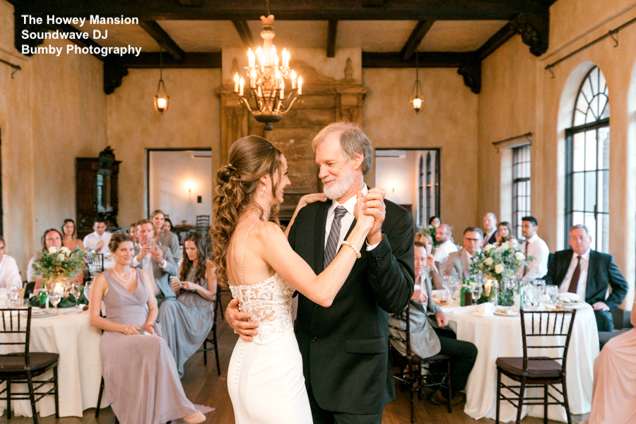 The howey mansion, orlando wedding venue - orlando wedding dj - orlando dj - orlando djs - soundwave entertainment - soundwave dj - orlando wedding lighting