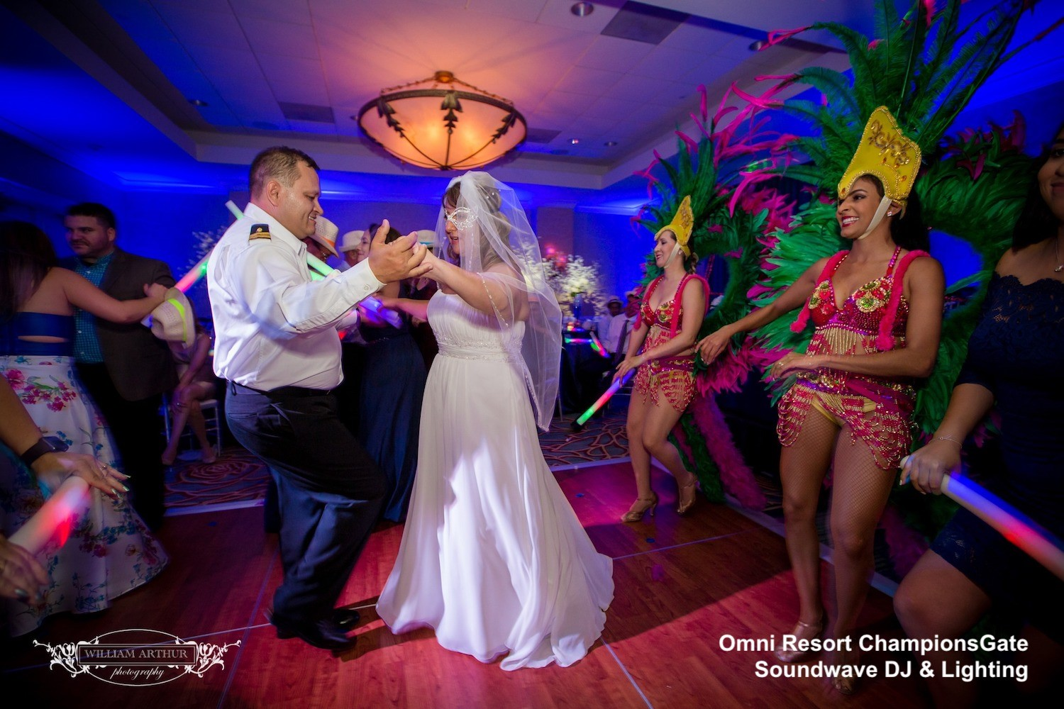 Omni orlando resort at championsGate - orlando wedding venue - orlando wedding dj - orlando dj - soundwave entertainment