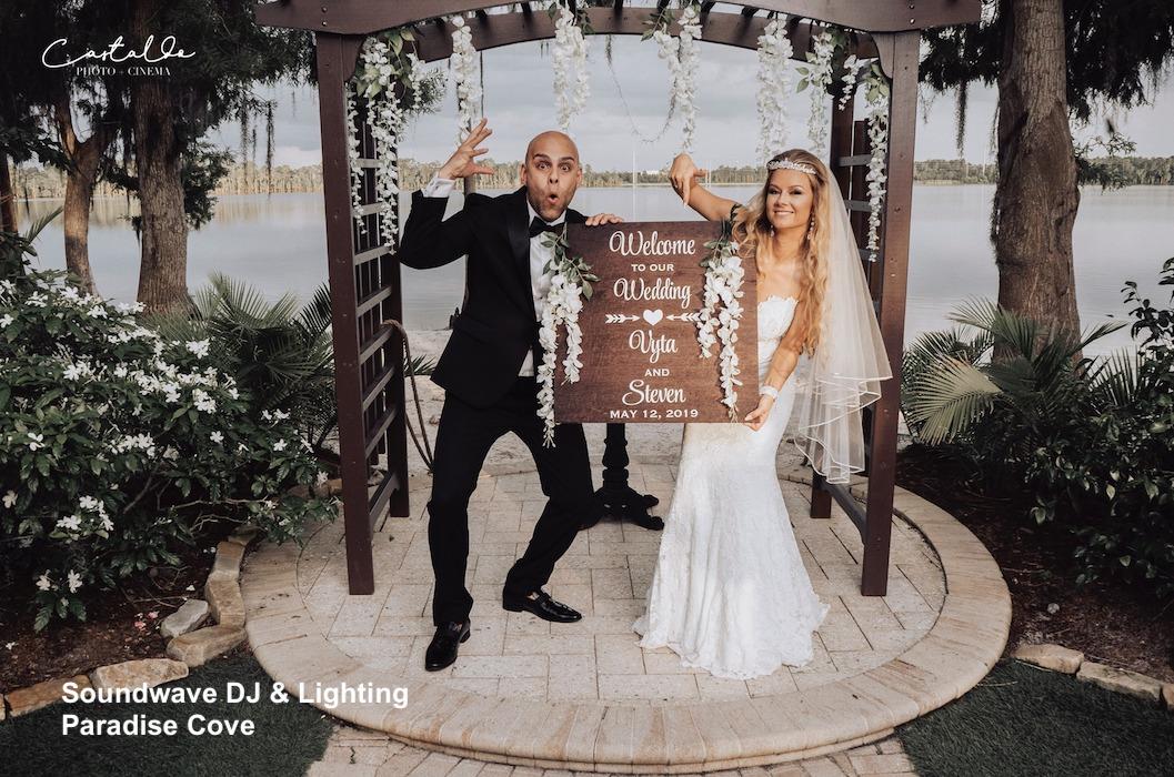 paradise cove - orlando wedding venue - orlando wedding dj - orlando dj - soundwave entertainment - orlando latin dj