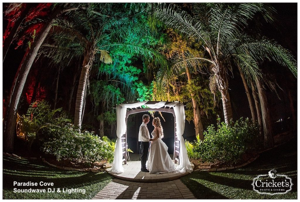 Paradise Cove - orlando - orlando wedding dj - orlando dj - orlando djs - soundwave entertainment - soundwave dj - orlando wedding lighting