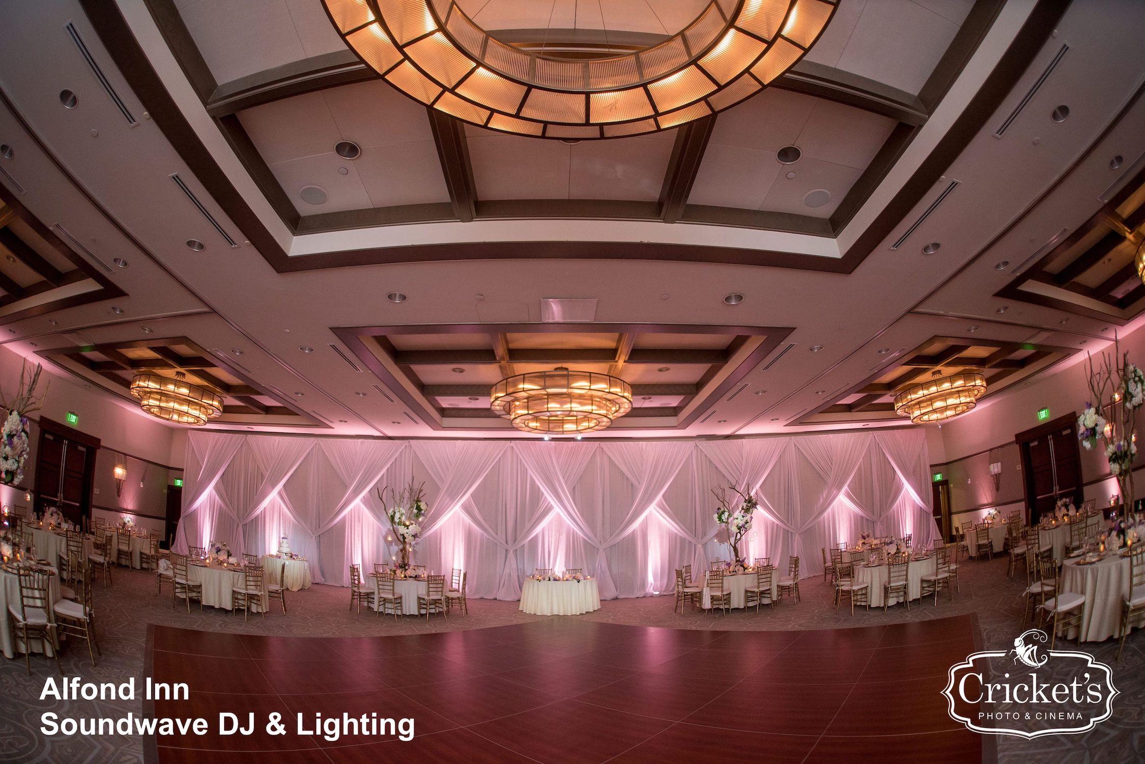 alfond inn - orlando wedding venue - orlando wedding dj - orlando wedding lighting - orlando djs - soundwave dj - soundwave entertainment