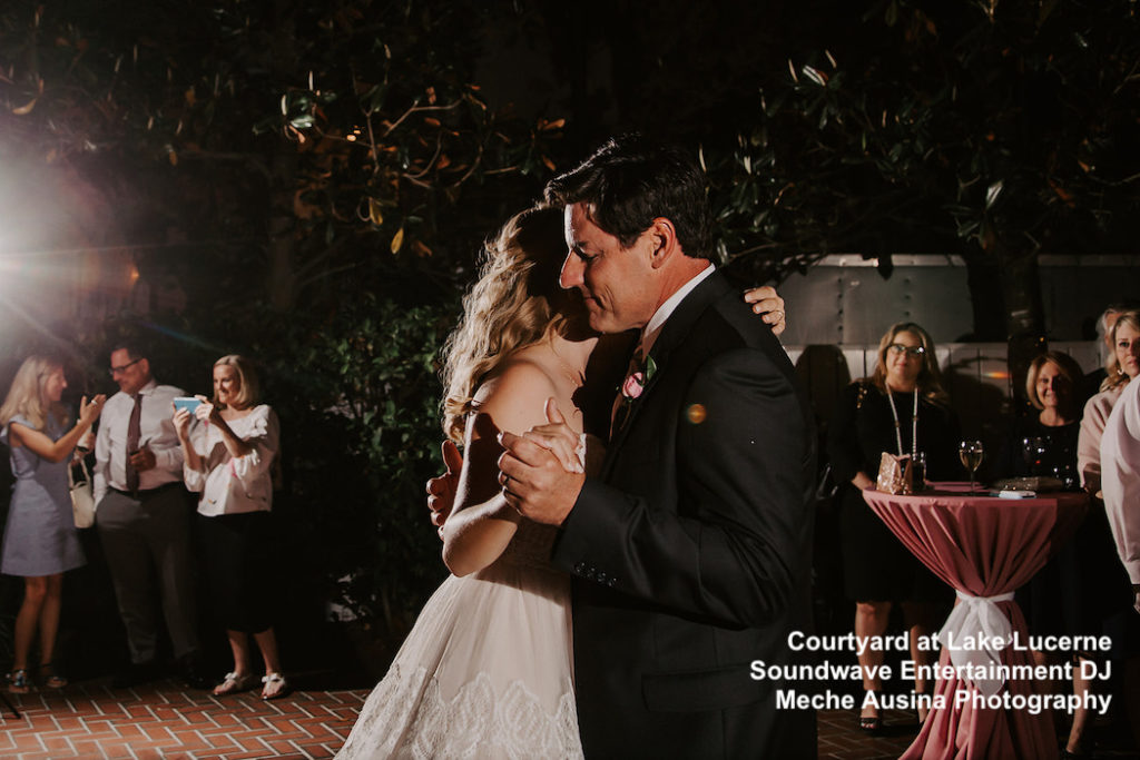 courtyard at lake lucerne - soundwave dj - soundwave entertainment - orlando wedding venue - orlando dj