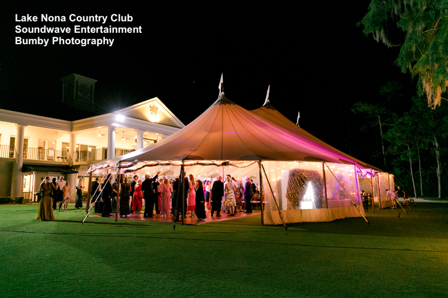 Lake Nona Golf and Country Club -orlando wedding venue - orlando wedding dj - orlando dj - soundwave dj - soundwave entertainment