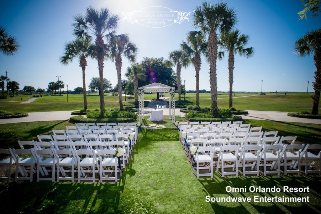 omni orlando resort at championsgate - orlando wedding venue - orlando wedding dj - orlando dj - orlando djs - soundwave dj - soundwave entertainment