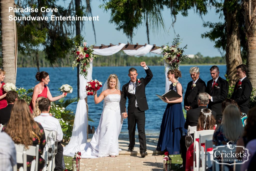 paradise cove - orlando wedding venue - orlando wedding dj - soundwave dj - soundwave entertainment