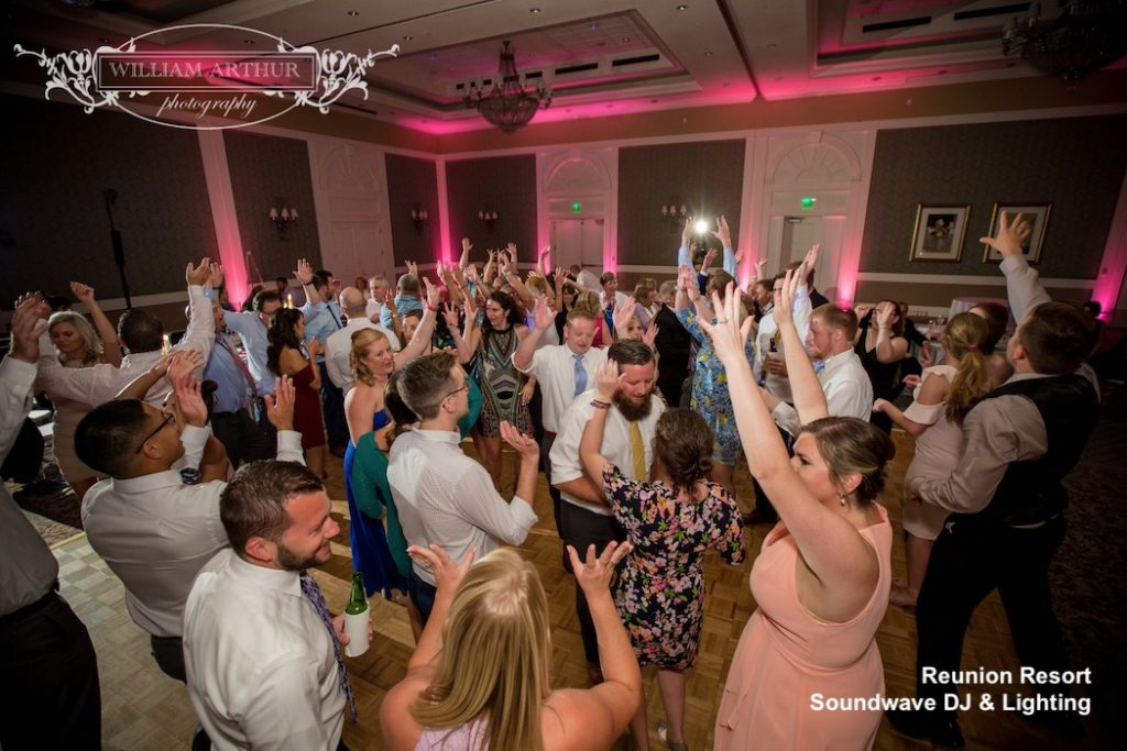 Reunion Resort, orlando wedding venue - orlando wedding dj - orlando dj - orlando djs - soundwave entertainment - soundwave dj - orlando wedding lighting