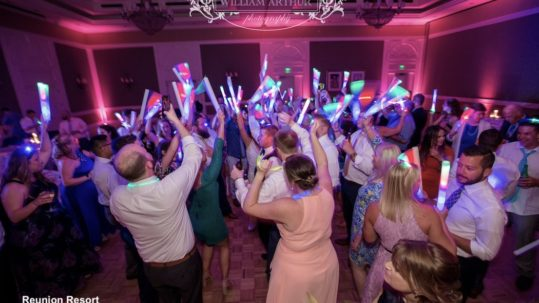 Reunion Resort, orlando wedding venue - orlando wedding dj - orlando dj - orlando djs - soundwave entertainment - soundwave dj - orlando wedding lighting
