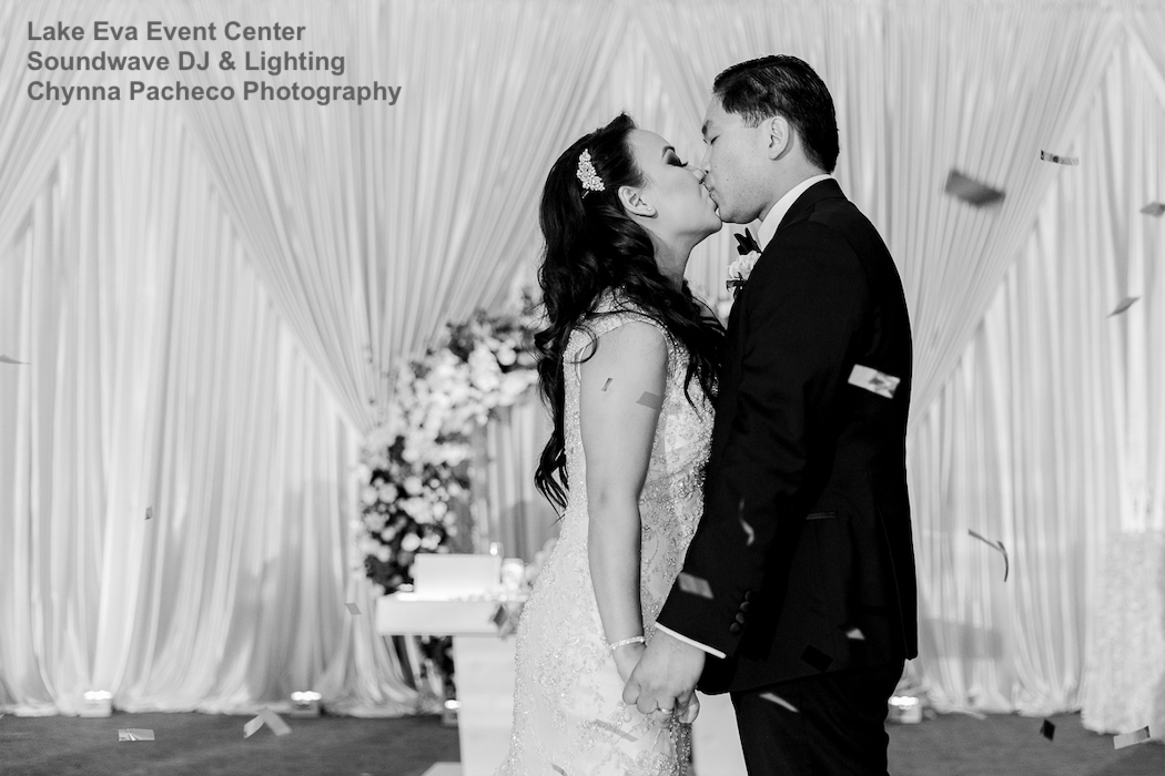 lake eva event center, orlando wedding venue - orlando wedding dj - orlando dj - orlando djs - soundwave entertainment - soundwave dj - orlando wedding lighting