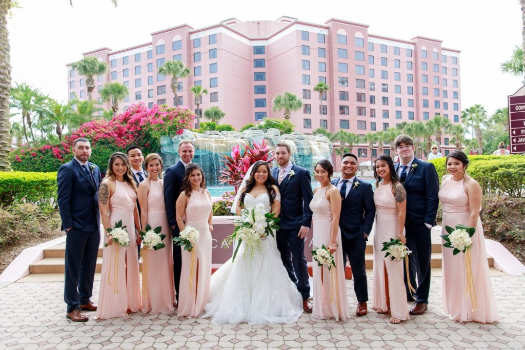 caribe royale orlando - orlando wedding venue - orlando wedding dj - orlando dj - orlando djs - soundwave entertainment - soundwave dj - orlando wedding lighting
