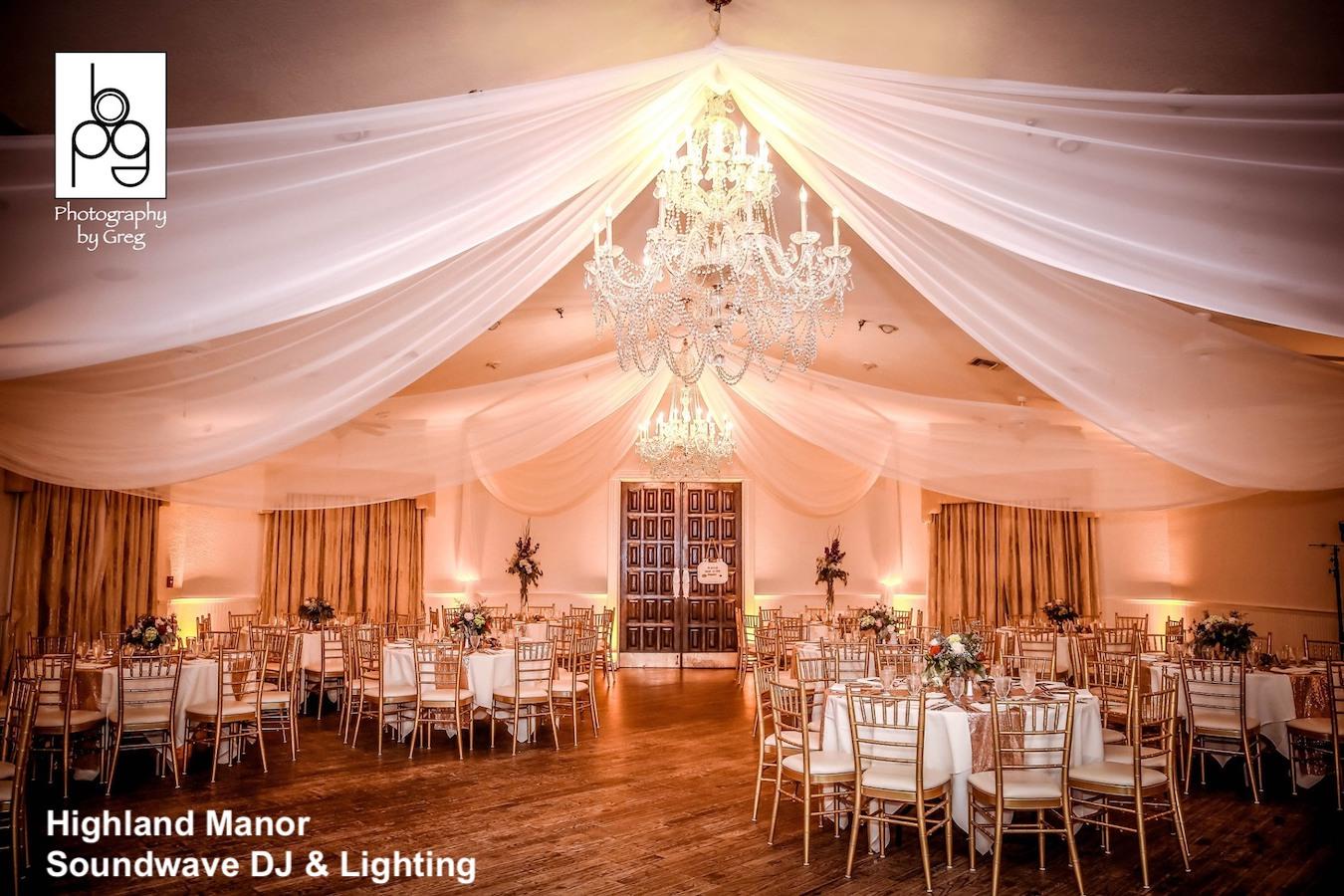 highland manor - orlando wedding venue - orlando dj - soundwave entertainment - soundwave dj