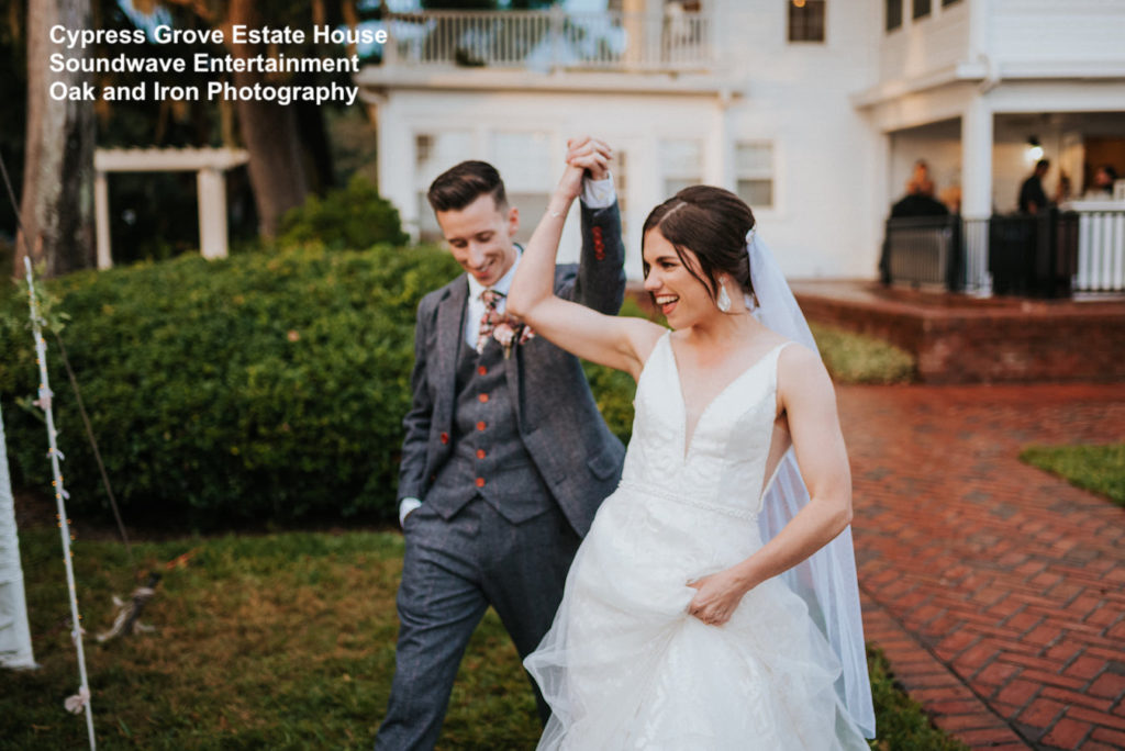 cypress grove estate house - orlando wedding venue - soundwave entertainment - orlando dj - orlando wedding dj - soundwave dj