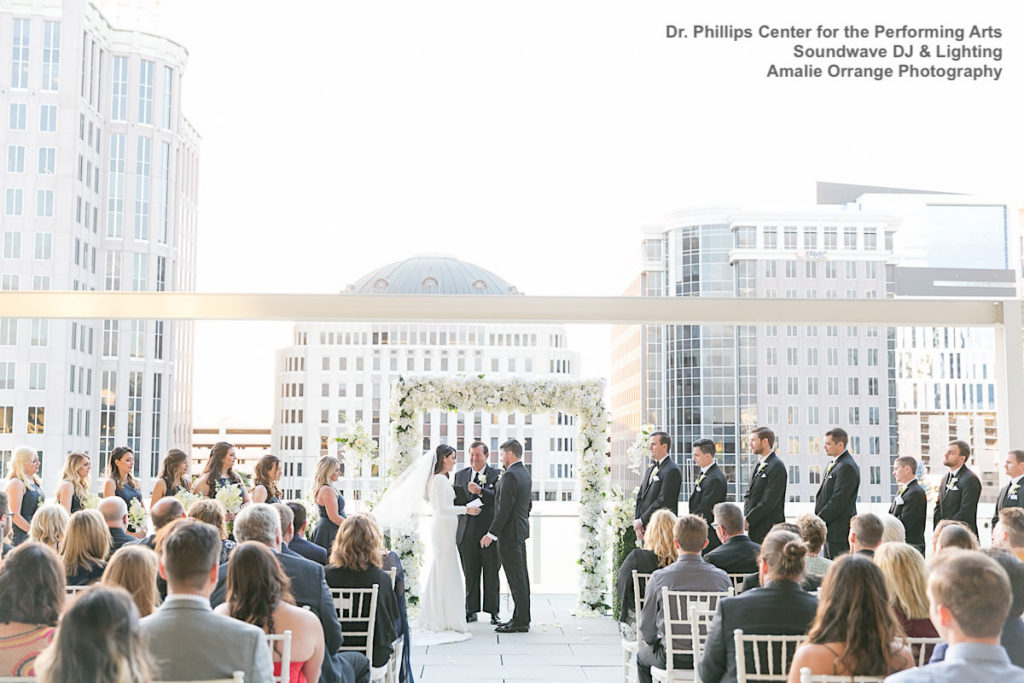 Dr. Phillips Center for the Performing Arts - orlando wedding venue - orlando wedding dj - orlando dj - soundwave entertainment - soundwave dj - orlando wedding lighting - orlando dj company