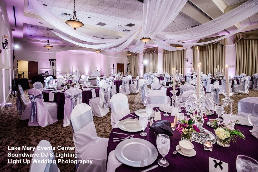 lake mary events center - orlando wedding venue - orlando wedding dj - orlando dj - soundwave entertainment - soundwave dj - orlando wedding lighting - orlando dj company