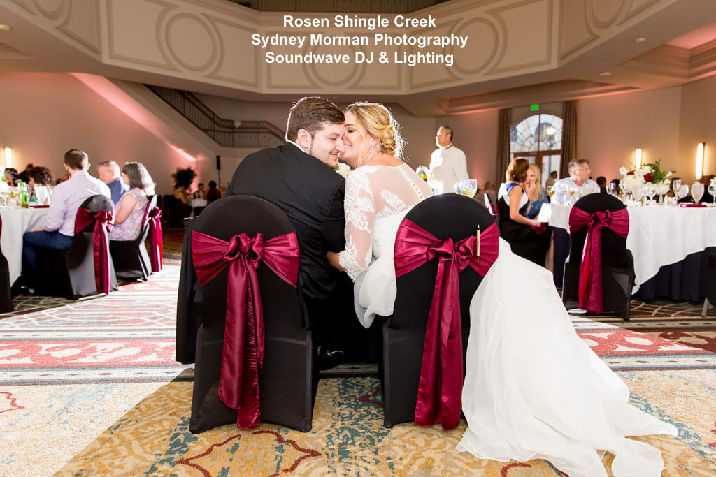 Rosen Shingle Creek - orlando wedding venue - orlando wedding dj - orlando dj - soundwave entertainment - soundwave dj - orlando wedding lighting - orlando dj company