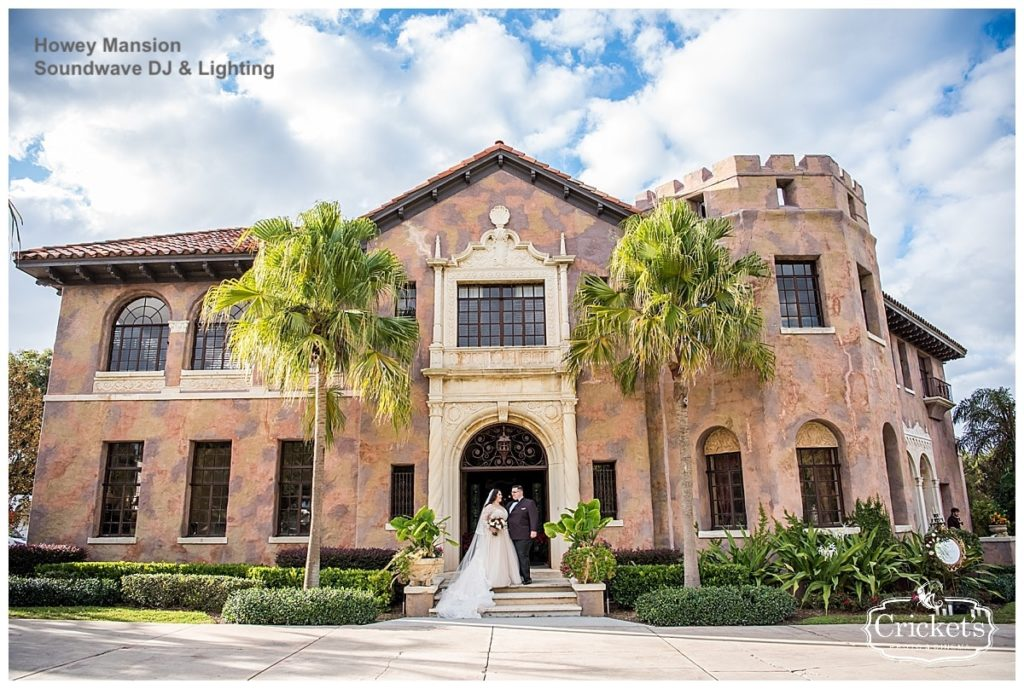 The Howey Mansion- orlando wedding venue - orlando wedding dj - orlando dj - soundwave entertainment - soundwave dj - orlando wedding lighting - orlando dj company