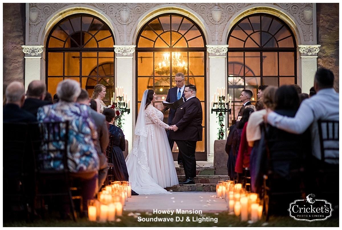 howey mansion - orlando wedding venue - soundwave entertainment