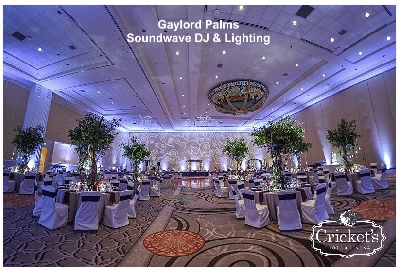 gaylord palms - orlando wedding venue - soundwave entertainment - soundwave dj