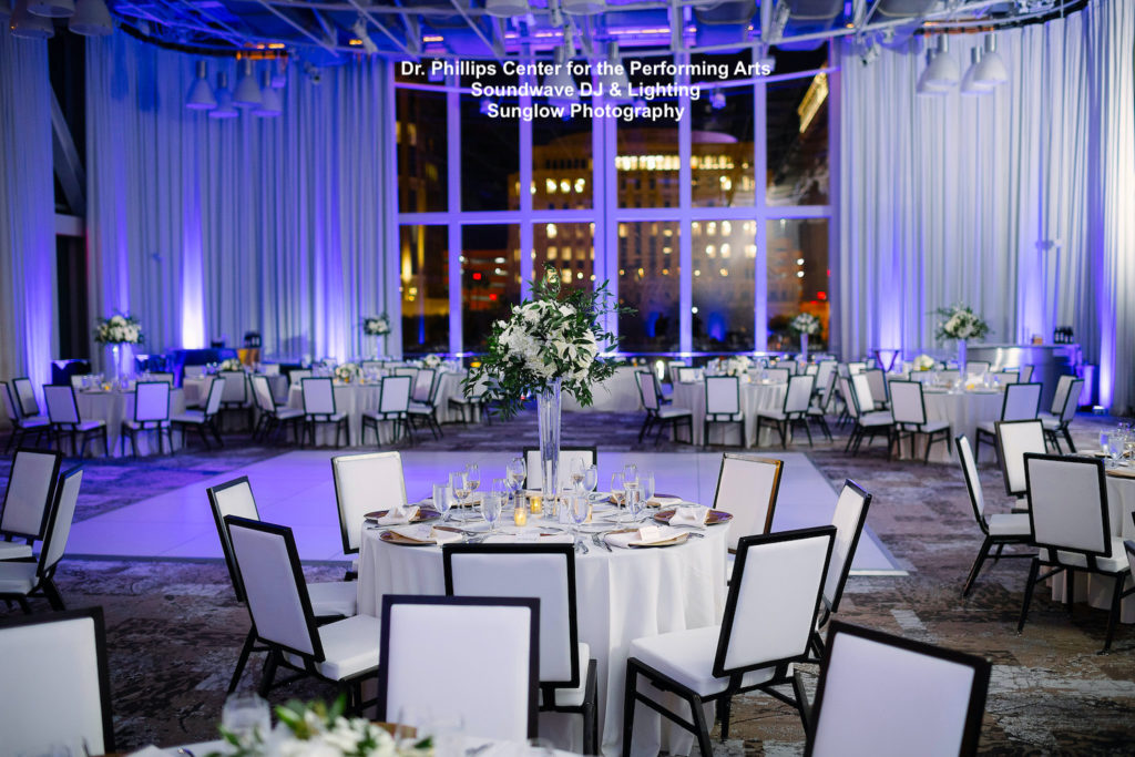 Dr. Phillips Center for the Performing Arts - orlando wedding venue - orlando wedding dj - orlando dj - soundwave entertainment - soundwave dj - orlando dj company