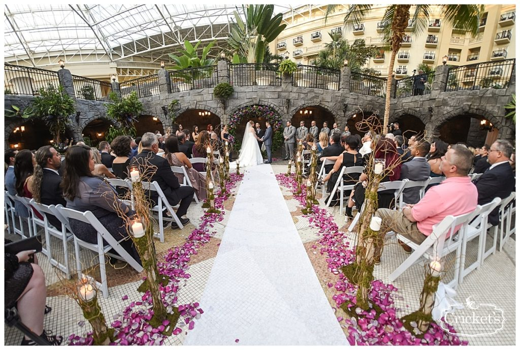 Gaylord Palms Resort and Convention Center - orlando wedding venue - orlando wedding dj - orlando dj - soundwave entertainment - soundwave dj - orlando wedding lighting - orlando dj company