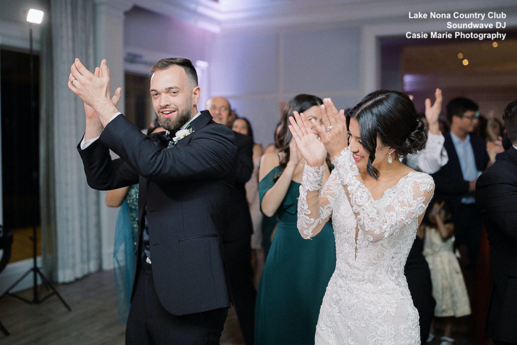 Lake Nona Golf and Country Club - orlando wedding venue - orlando wedding dj - orlando dj - soundwave entertainment - soundwave dj - orlando wedding lighting - orlando dj company