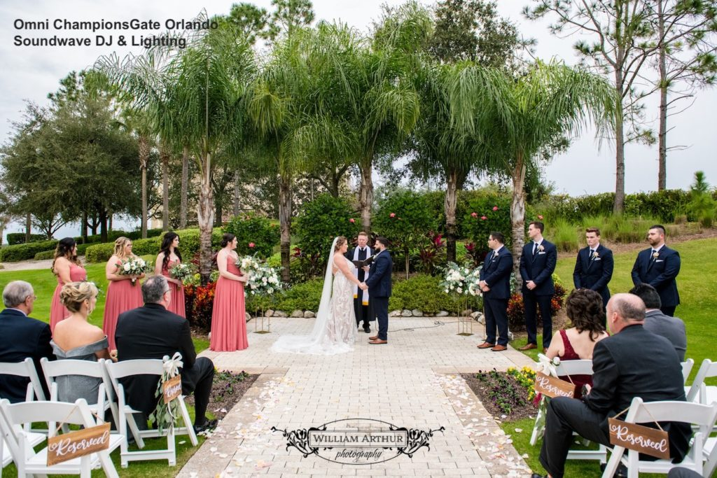 Omni Orlando Resort at Championsgate - orlando wedding venue - orlando wedding dj - orlando dj - soundwave entertainment - soundwave dj - orlando wedding lighting - orlando dj company