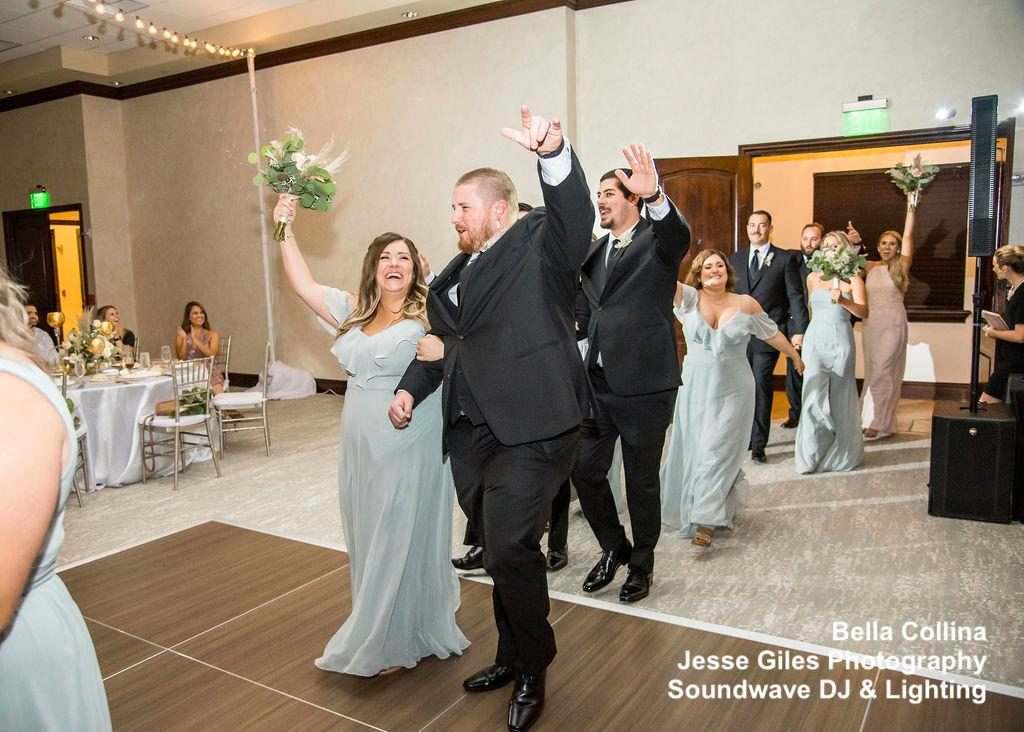 bride and groom - wedding toast - orlando wedding dj - orlando dj - soundwave entertainment - soundwave dj - orlando wedding lighting - orlando dj company