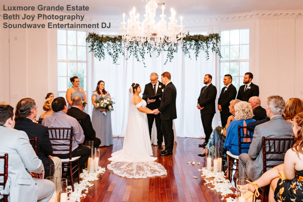 Luxmore Grande Estate - orlando wedding venue - orlando wedding dj - orlando dj - soundwave entertainment - soundwave dj - orlando wedding lighting - orlando dj company