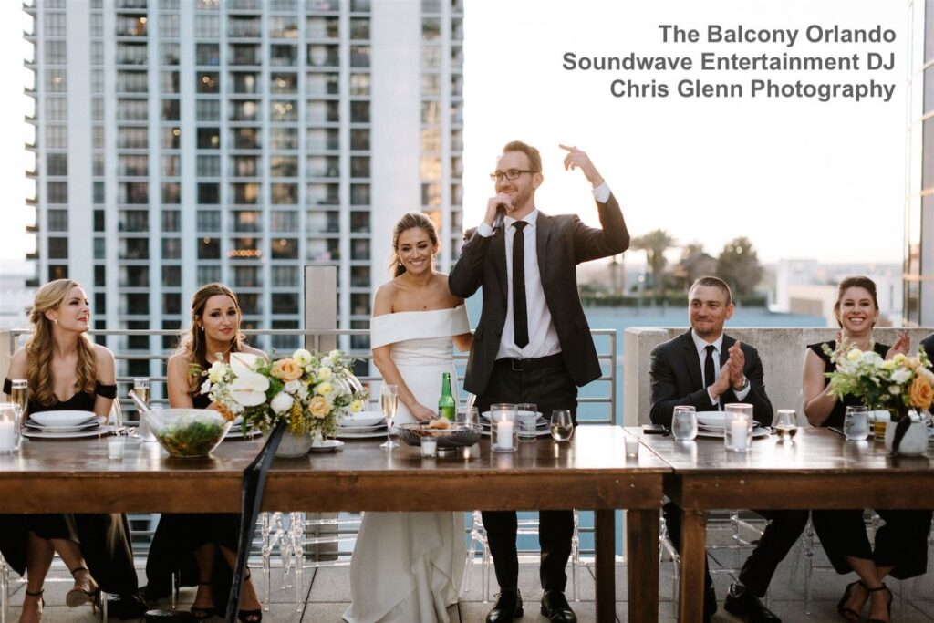 The Balcony Orlando wedding with Soundwave Entertainment DJ Ray Vales