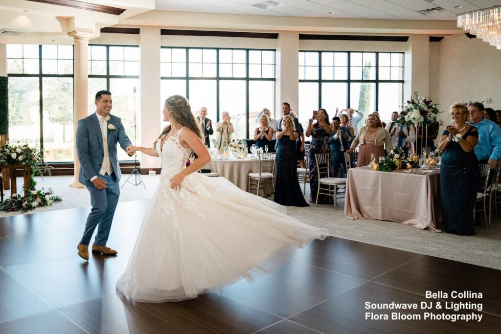 Bella Collina - orlando wedding venue - orlando wedding dj - orlando dj - soundwave entertainment - soundwave dj - orlando dj company