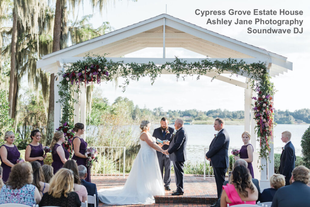 cypress grove estate house - orlando wedding venue - orlando wedding dj - orlando dj - soundwave entertainment - soundwave dj - orlando dj company