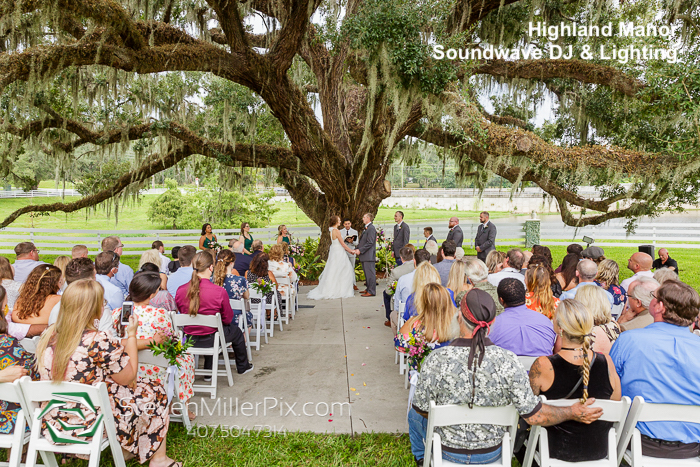 Highland Manor - orlando wedding venue - orlando wedding dj - orlando dj - soundwave entertainment - soundwave dj - orlando dj company