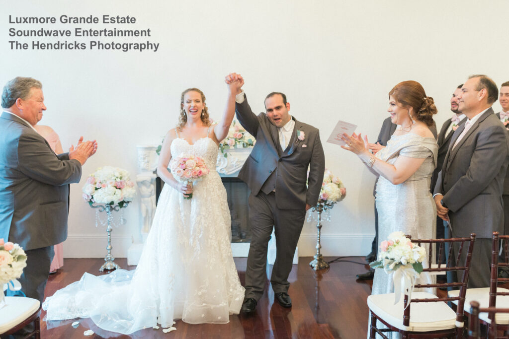 luxmore grande estate - orlando wedding dj - soundwave entertainment - soundwave dj - orlando wedding
