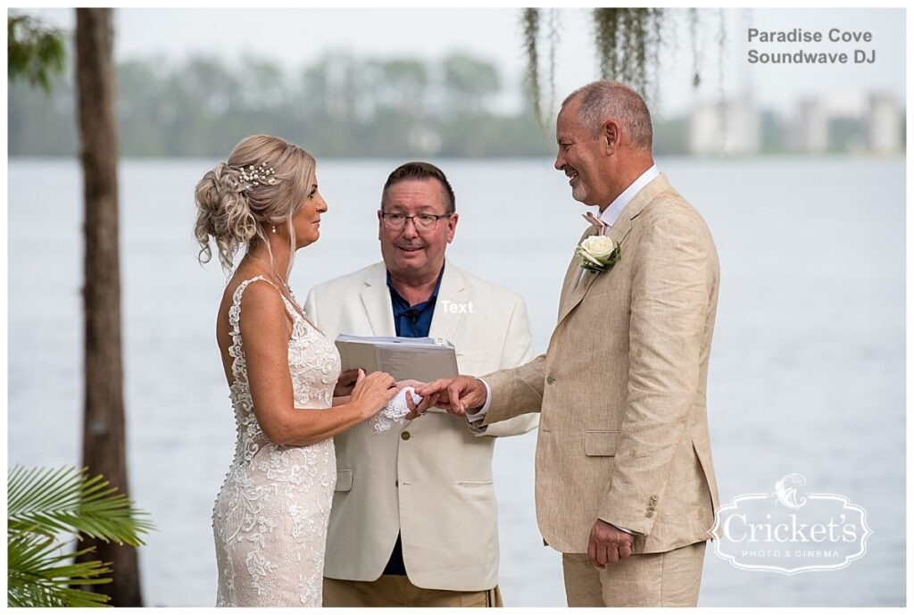 Paradise Cove - orlando wedding venue - orlando wedding dj - orlando dj - soundwave entertainment - soundwave dj - orlando dj company