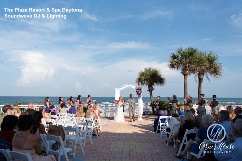 The Plaza Resort & Spa Daytona - Daytona wedding venue - Daytona wedding dj - Daytona dj - soundwave entertainment - soundwave dj - Daytona wedding lighting - daytona dj company