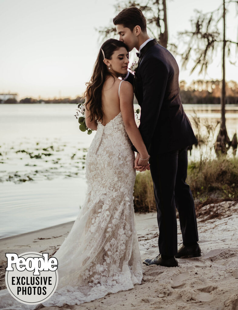 brandon larracuente - party of five - jazmin garcia - orlando wedding - celebrity wedding - paradise cove - soundwave dj - soundwave entertainment - orlando wedding