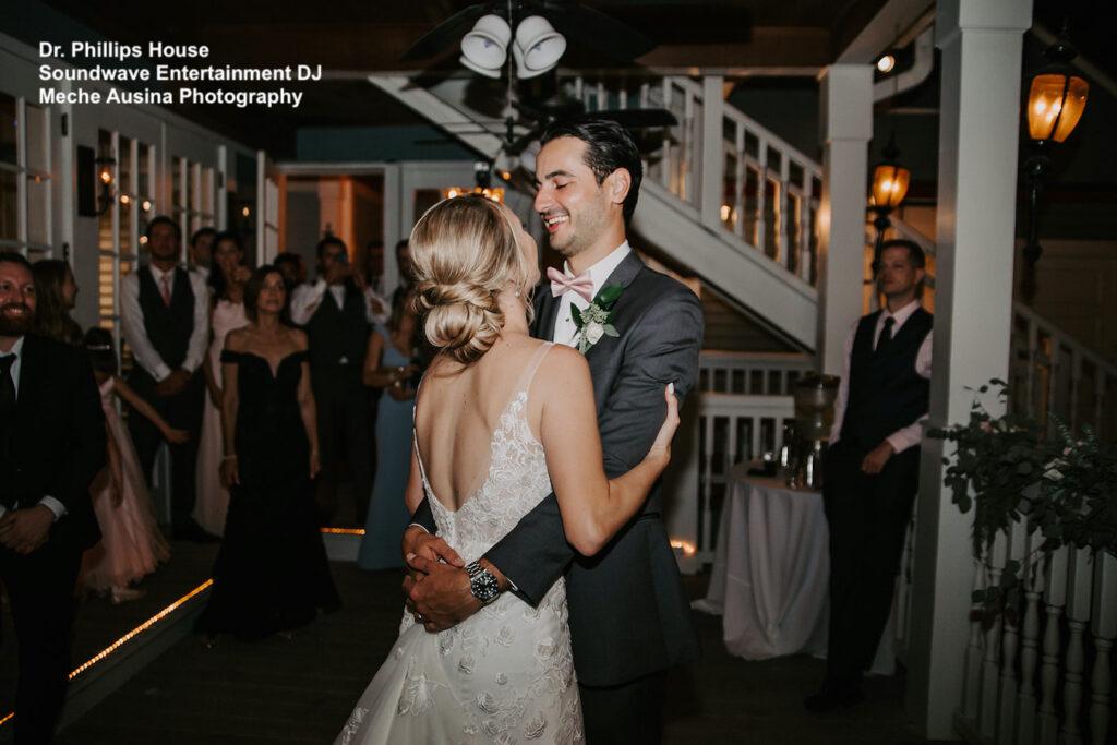 dr phillips house orlando - orlando wedding venue - orlando wedding dj - soundwave entertainment - soundwave dj