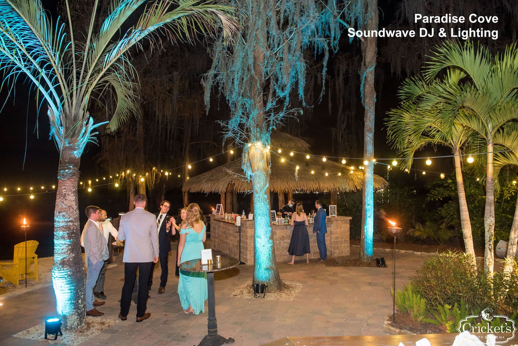 paradise cove orlando - orlando wedding venue