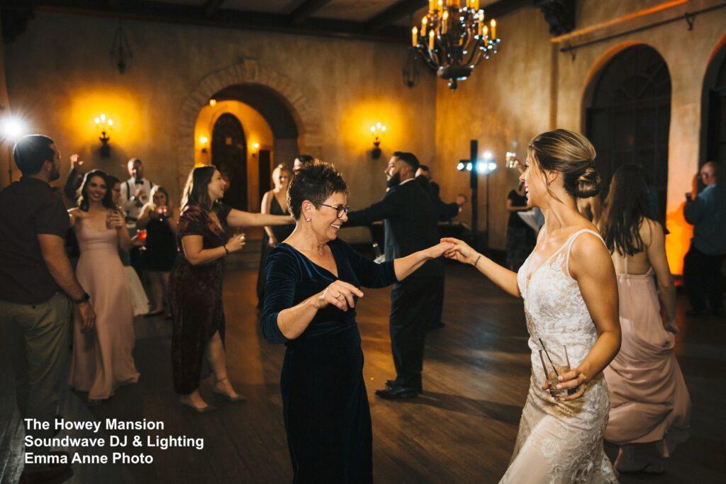 Howey Mansion Wedding Dancing