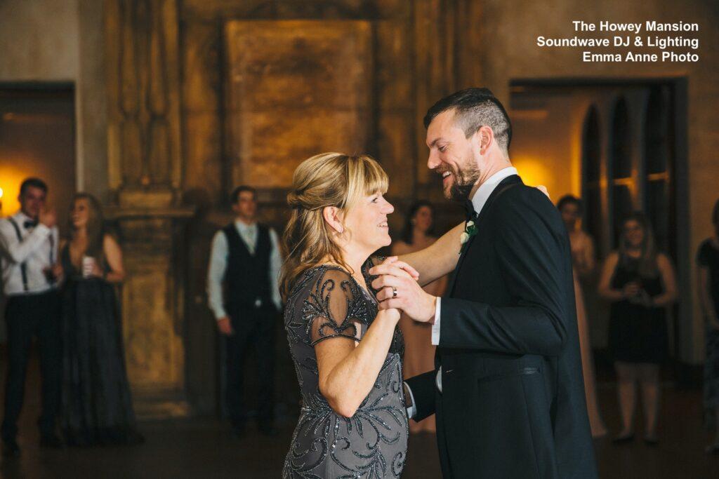 Howey Mansion Wedding Mother Son Dance